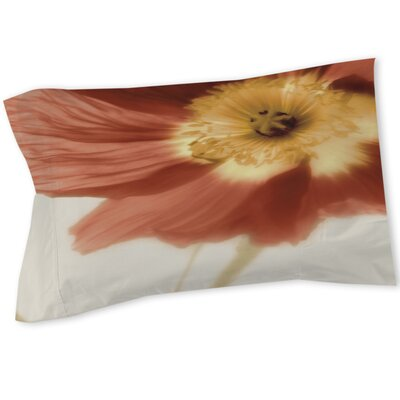 Mystic Poppy 1 Sham Size: Queen/King