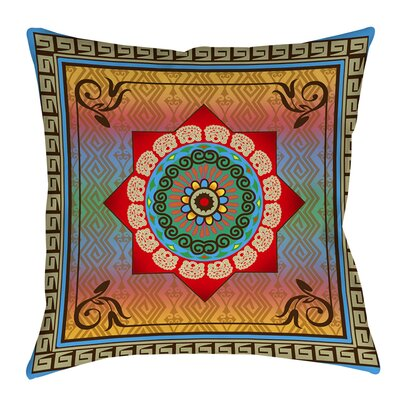 Mexican Summer Indoor/Outdoor Throw Pillow Size: 18 H x 18 W x 5 D