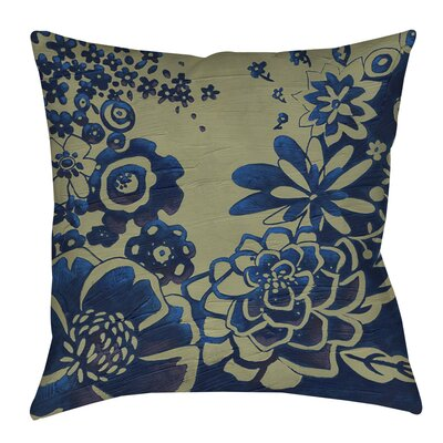 Kyoto Garden 3 Indoor/Outdoor Throw Pillow Size: 16 H x 16 W x 4 D