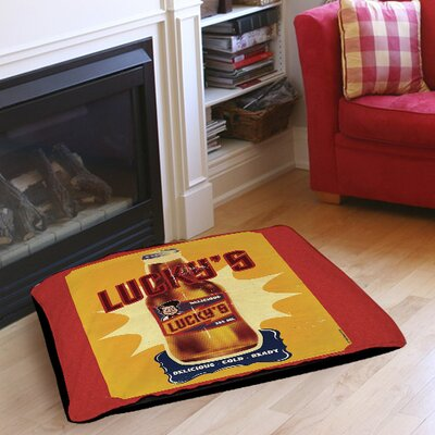 Luckys Indoor/Outdoor Pet Bed Size: 50 L x 40 W