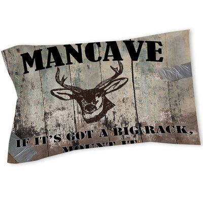 Mancave II Sham Size: Queen/King