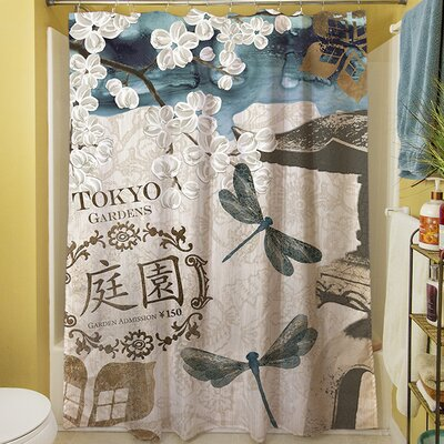 Meditation Gardens I Shower Curtain