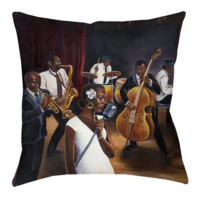 Indoor/Outdoor Throw Pillow Size: 20 H x 20 W x 5 D
