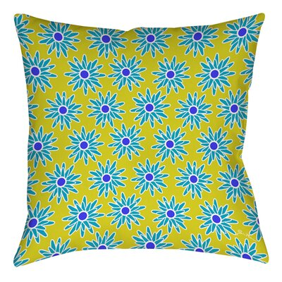 La Roque Summer Starburst Printed Throw Pillow Size: 16 H x 16 W x 4 D