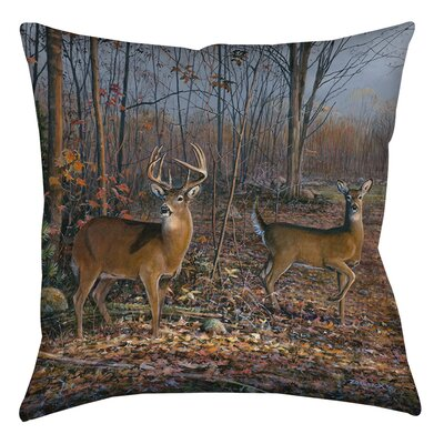 Lovers Lane Printed  Throw Pillow Size: 18 H x 18 W x 5 D