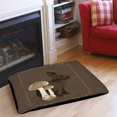 Luxury Lodge Rabbit Indoor/Outdoor Pet Bed Size: 50 L x 40 W