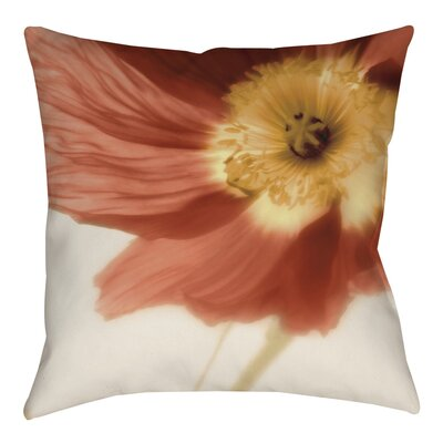 Mystic Poppy 1 Indoor/Outdoor Throw Pillow Size: 16 H x 16 W x 4 D