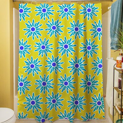 La Roque Summer Starburst Shower Curtain