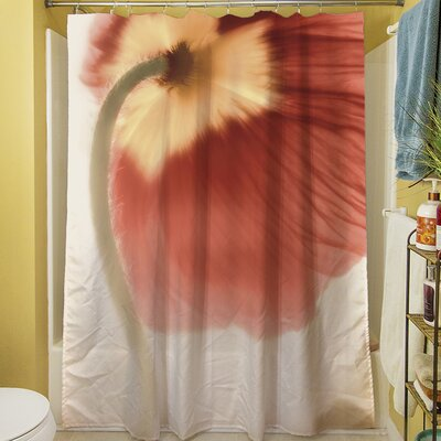 Mystic Poppy II Shower Curtain