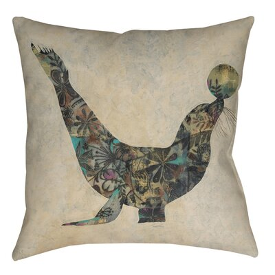 Having a Ball 1 Indoor/Outdoor Throw Pillow Size: 18 H x 18 W x 5 D