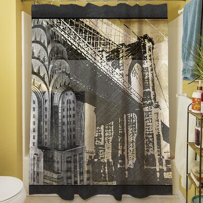 Metropolitan Collage I Shower Curtain