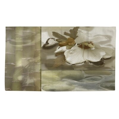 Natural Elements 2  Green Area Rug Rug size: 4 x 6