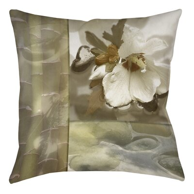 Natural Elements 2 Printed Throw Pillow Size: 14 H x 14 W x 3 D