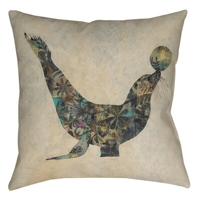 Having a Ball 1 Printed Throw Pillow Size: 16 H x 16 W x 4 D