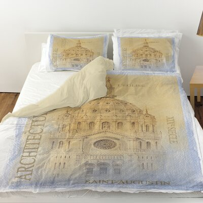 LEglise Duvet Cover Size: Queen