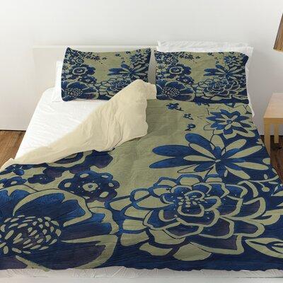 Kyoto Garden 3 Duvet Cover Size: Queen