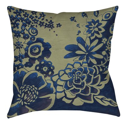 Kyoto Garden 3 Printed Throw Pillow Size: 20 H x 20 W x 5 D