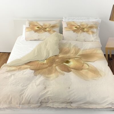 Lovely Tulip Duvet Cover Size: Twin