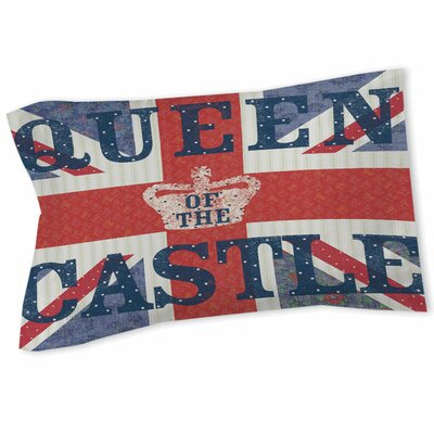 My Queen Castle Square Sham Size: Queen/King