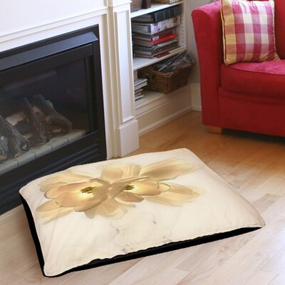 Lovely Tulip Indoor/Outdoor Pet Bed Size: 28 L x 18 W
