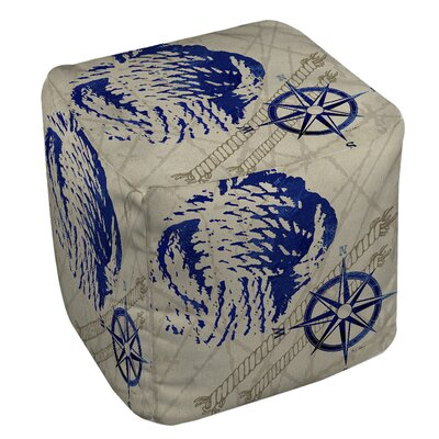 Nautical Rope Ottoman
