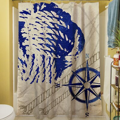 Hawkins Shower Curtain