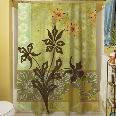 Collage Blossoms Shower Curtain