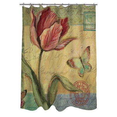 Loretta Tulip Shower Curtain