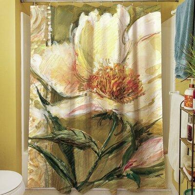 Sketchbook Floral Shower Curtain