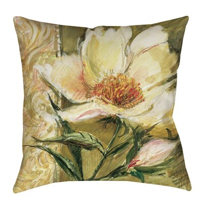 Loretta Printed Throw Pillow Size: 14 H x 14 W x 3 D