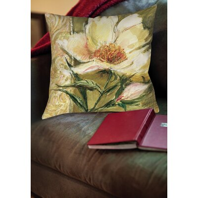 Loretta Printed Throw Pillow Size: 18 H x 18 W x 5 D