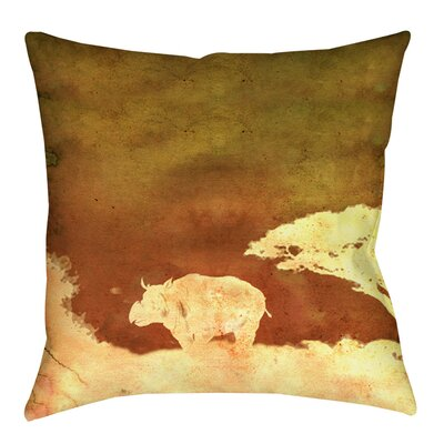 Safari Sunrise 2 Printed Throw Pillow Size: 18 H x 18 W x 5 D