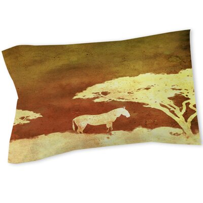 Safari Sunrise 3 Sham Size: Queen/King