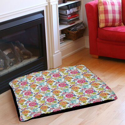 Shangri La Leaves Indoor/Outdoor Pet Bed Size: 50 L x 40 W