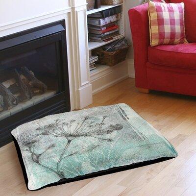 Ombre Wildflowers 1 Indoor/Outdoor Pet Bed Size: 40 L x 30 W
