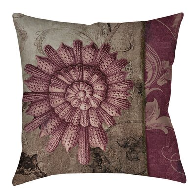 Shore Lines 2 Indoor/Outdoor Throw Pillow Size: 20 H x 20 W x 5 D