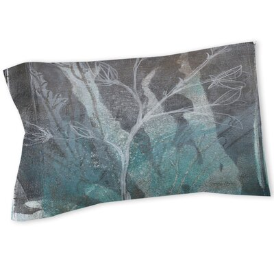Ombre Wildflowers 1 Sham Size: Queen/King