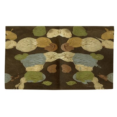 Rorschach Abstract Multi Area Rug Rug Size: 2 x 3