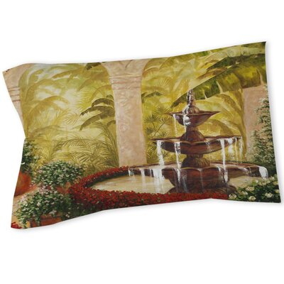 Palm Garden II Sham Size: Queen/King