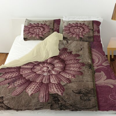 Shore Lines 2 Duvet Cover Size: Twin