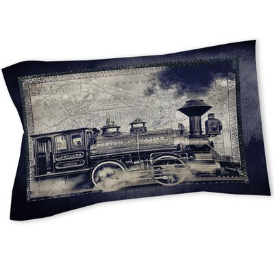 Railway Beantown Sham Size: Queen/King