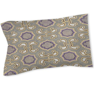 Plum Scene Sham Size: Queen/King
