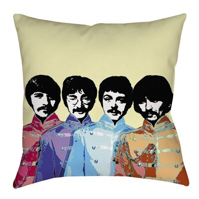 Sixties Legacy Printed Throw Pillow Size: 26 H x 26 W x 7 D