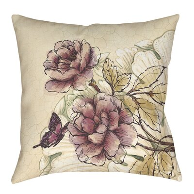 Lori Indoor/Outdoor Throw Pillow Size: 16 H x 16 W x 4 D