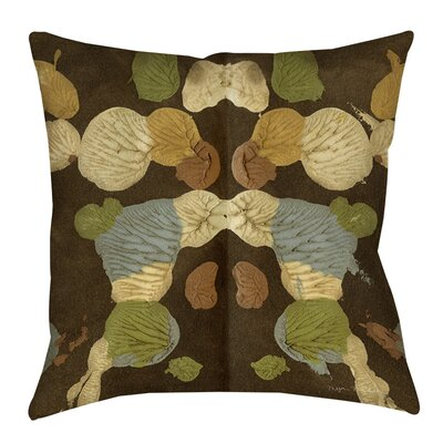 Rorschach Abstract Printed Throw Pillow Size: 26 H x 26 W x 7 D