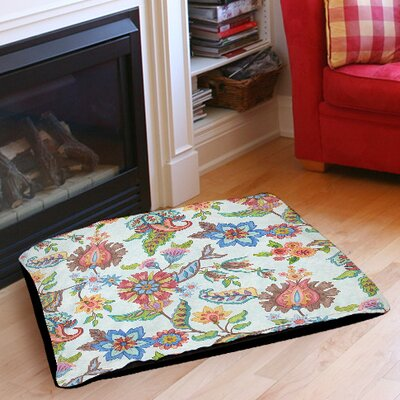Shangri La Indoor/Outdoor Pet Bed Color: Natural, Size: 50 L x 40 W