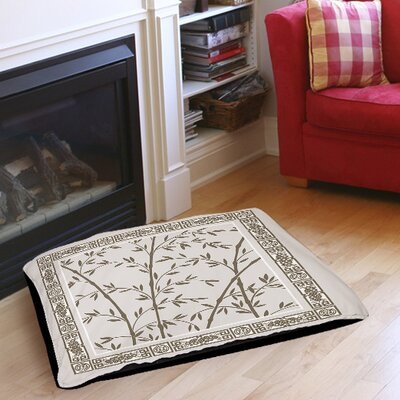 Oriental Treasure Indoor/Outdoor Pet Bed Size: 28 L x 18 W