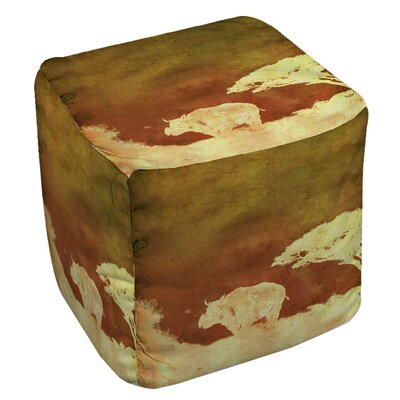 Safari Sunrise 2 Ottoman