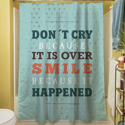 Smile at Past Shower Curtain