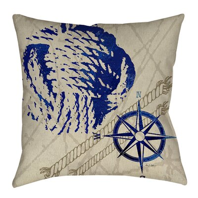 Clermont Indoor/Outdoor Throw Pillow Size: 20 H x 20 W x 5 D